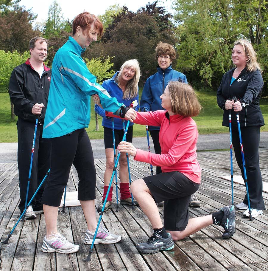 Nordic Pole Walking course